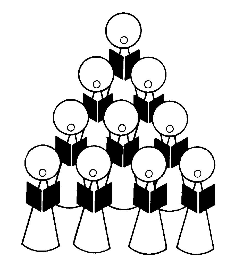 clip art church choir singing - photo #28